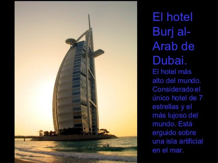 Mega proyectos de construcci n en dubai for Hoteles mas lujosos del mundo bajo el mar