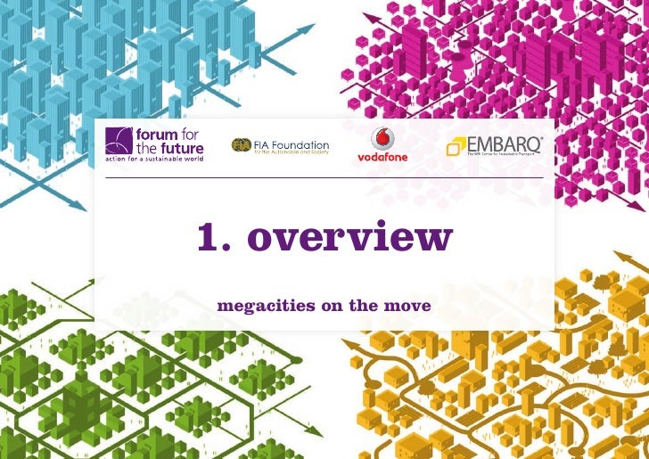 1. overviewmegacities on the move