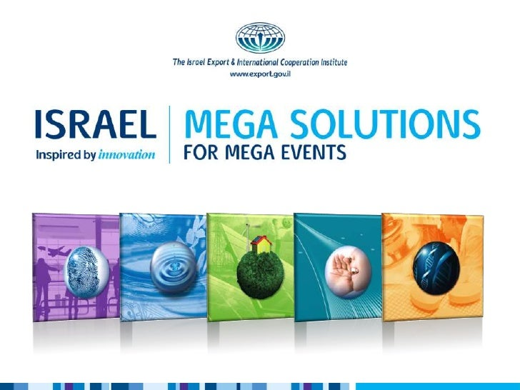 Dear friends,On behalf of The Israel Export & International Cooperation Institute I would like to encourage you to reviewt...