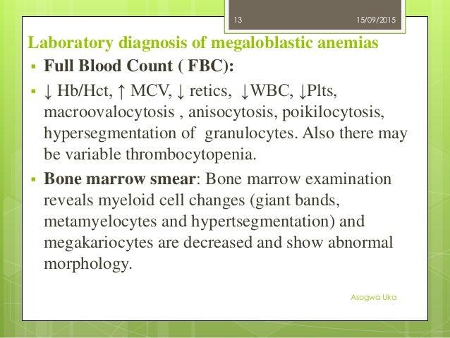 megaloblastic anemia, Skeleton