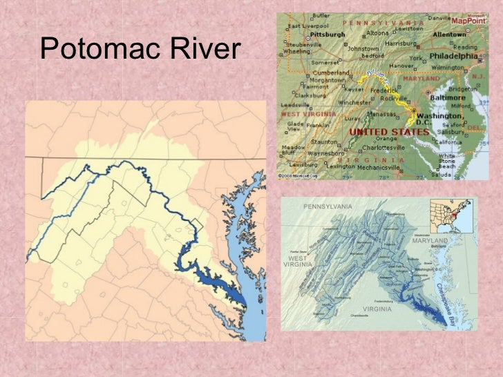 Megalopolis map study iiPotomac River Map With States