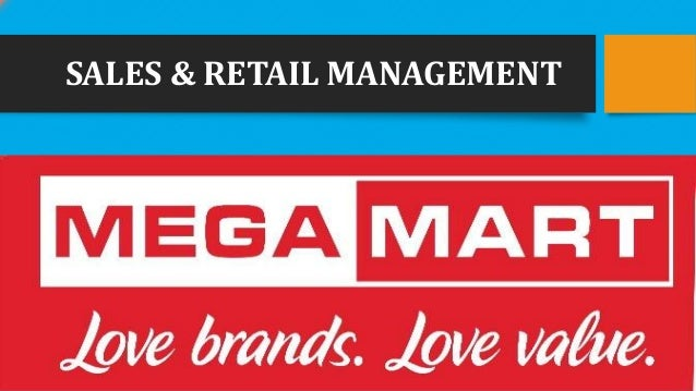 SALES & RETAIL MANAGEMENT