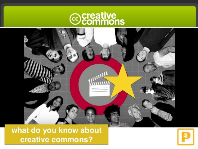 what do you know about creative commons?
