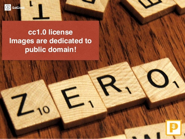 GotCredit cc1.0 license Images are dedicated to public domain!