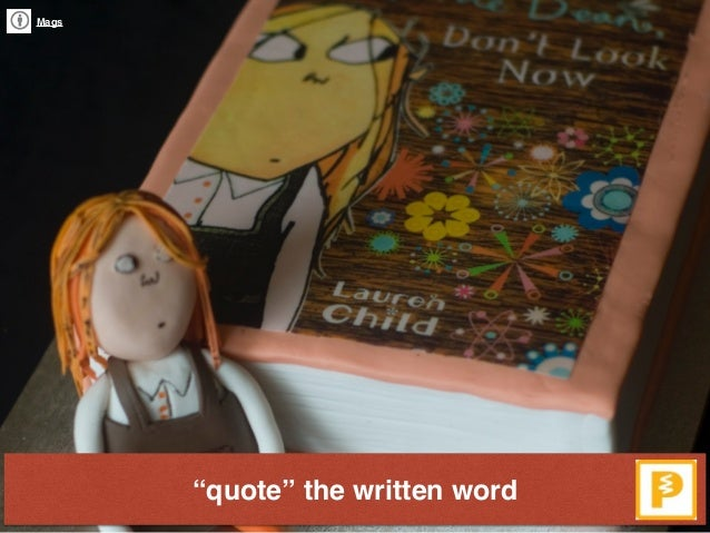 """""""quote"""" the written word Mags"""