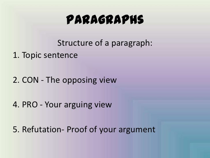 how to write and argumentative essay