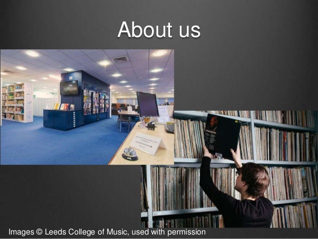 The Hybrid Music Library User Format Preferences At Leeds College Of