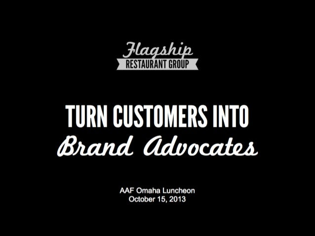 Turn Customers into Brand Advocates