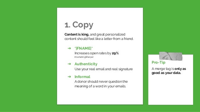 5 Ways to Boost Email Engagement Through Personalization with Megan McCaffery Slide 2