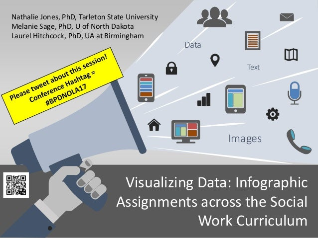 Visualizing Data: Infographic Assignments across the Social Work Curriculum Text Images Data Nathalie Jones, PhD, Tarleton...