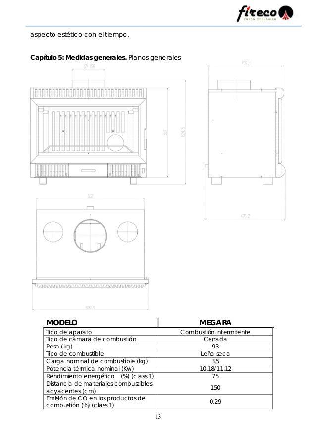 Manual de instrucciones Megara