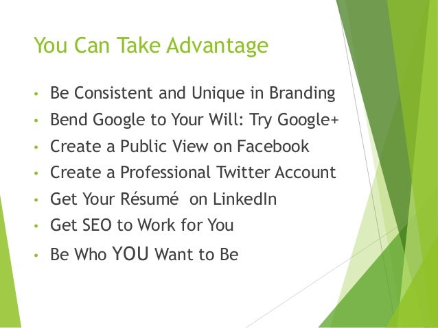 how to create a professional online presence
