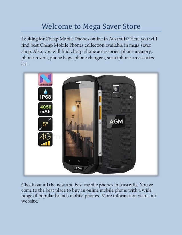 124a225c6c2 Welcome to Mega Saver Store Looking for Cheap Mobile Phones online in  Australia
