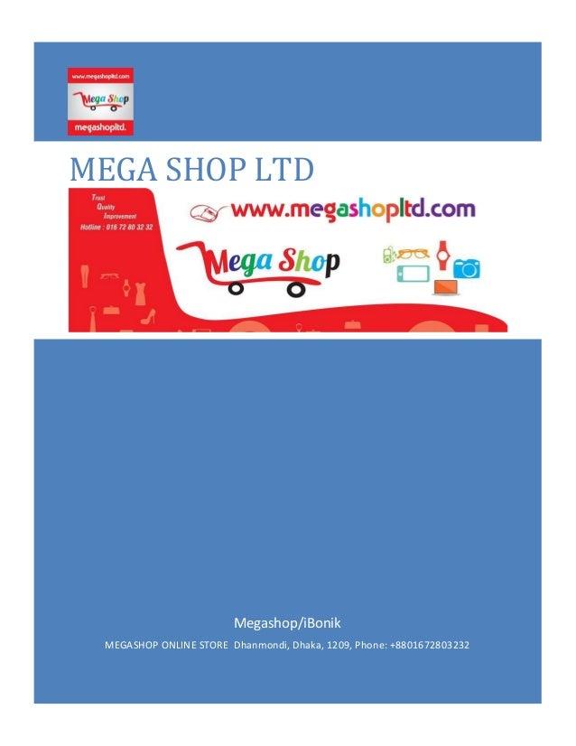 Megashop Online Store