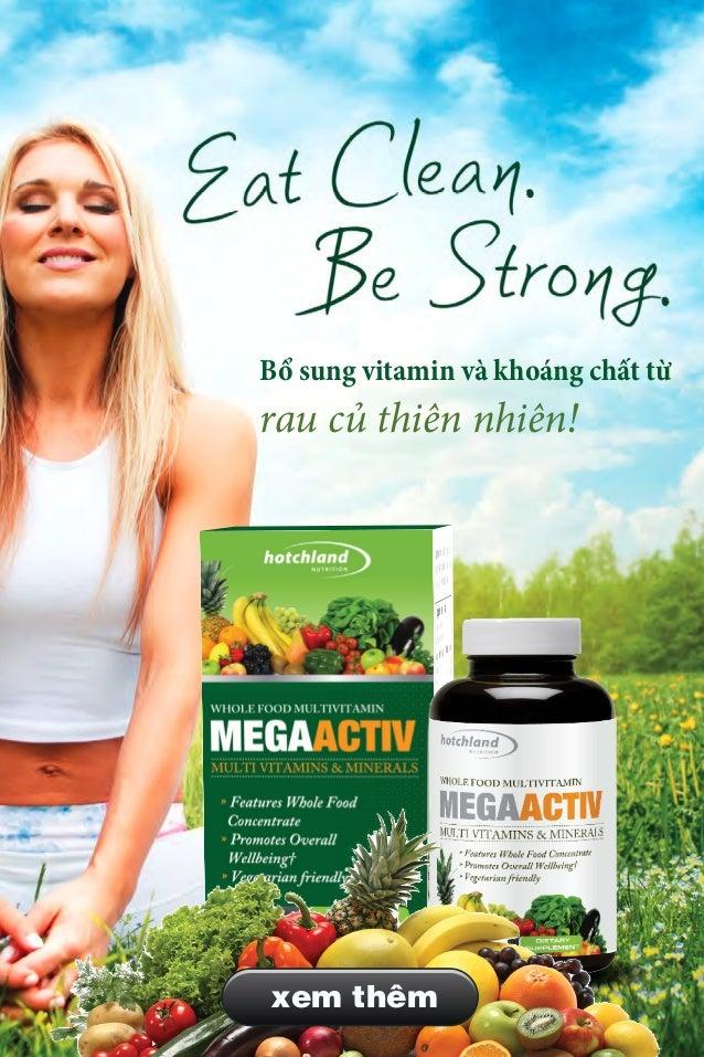 Bổ sung vitamin thiên nhiên