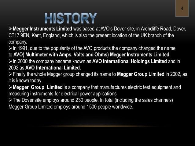 Megger Group Limited : Megger mega ohm meter