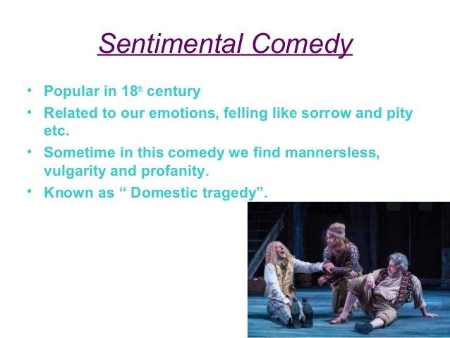 The Anti-Sentimental Comedy Sheridan and Goldsmith Slide 3