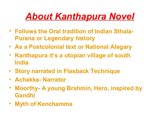 Kanthapura - Social, Political and Religious aspects Slide 3