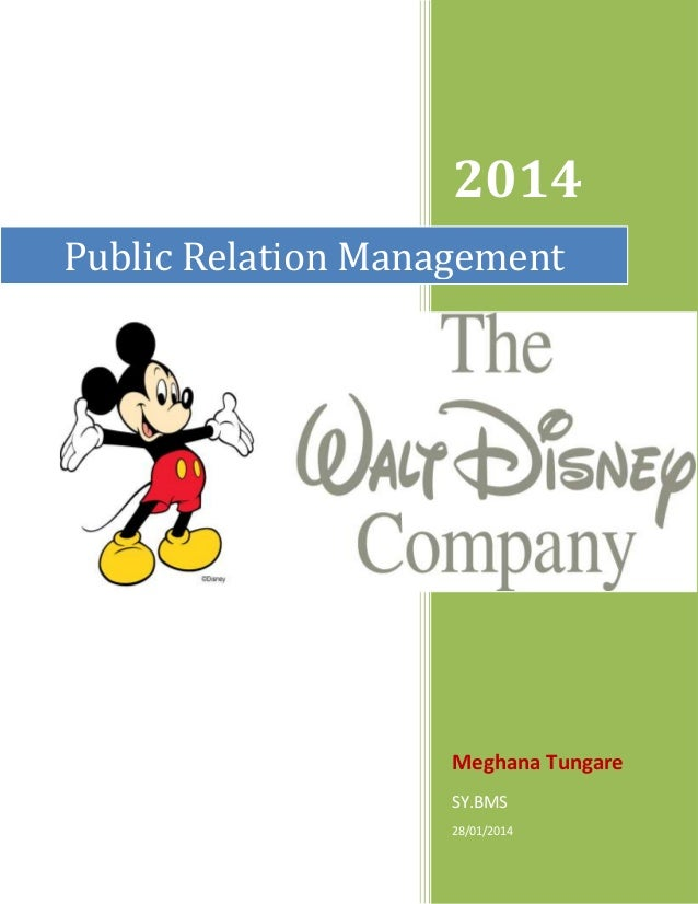 2014 Public Relation Management  Meghana Tungare SY.BMS 28/01/2014