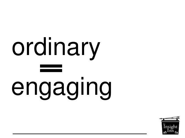 how to  find the  ordinary  extraordinary  Megan Averell, @Meggatron  www.theinsightinn.com