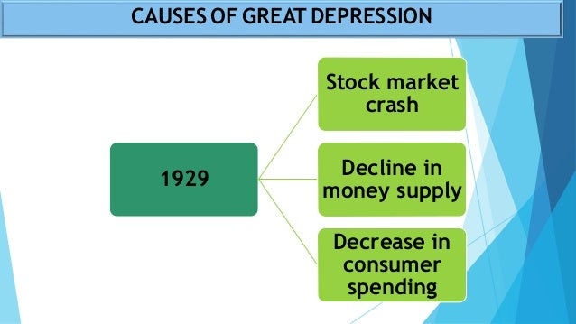 an analysis of the great depression in 1929 1933