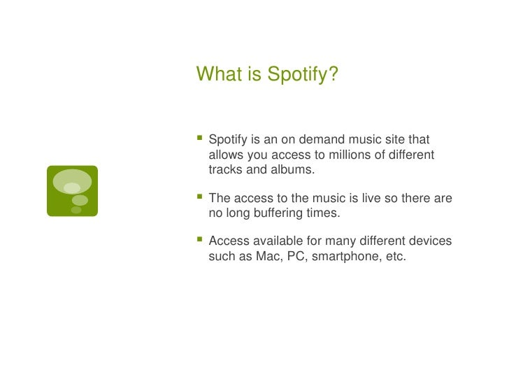 Spotify; Social Media Assignment 2