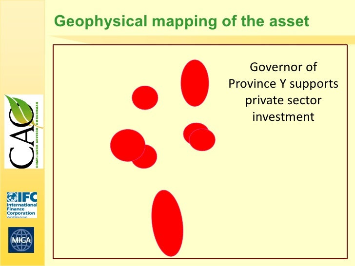 Geophysical mapping of the asset                         Governor of                     Province Y supports              ...