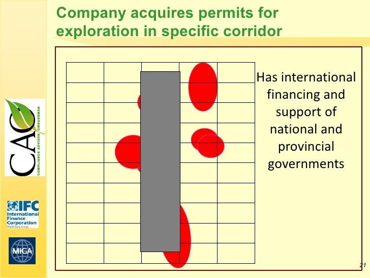 Company acquires permits forexploration in specific corridor                            Has international                 ...