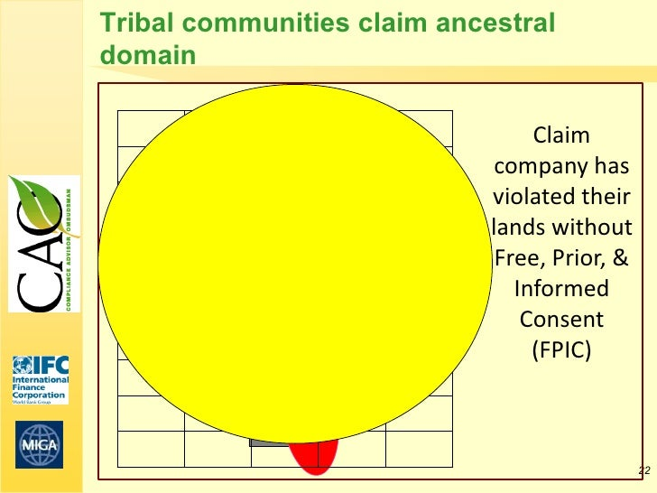 Tribal communities claim ancestraldomain                                  Claim                              company has  ...