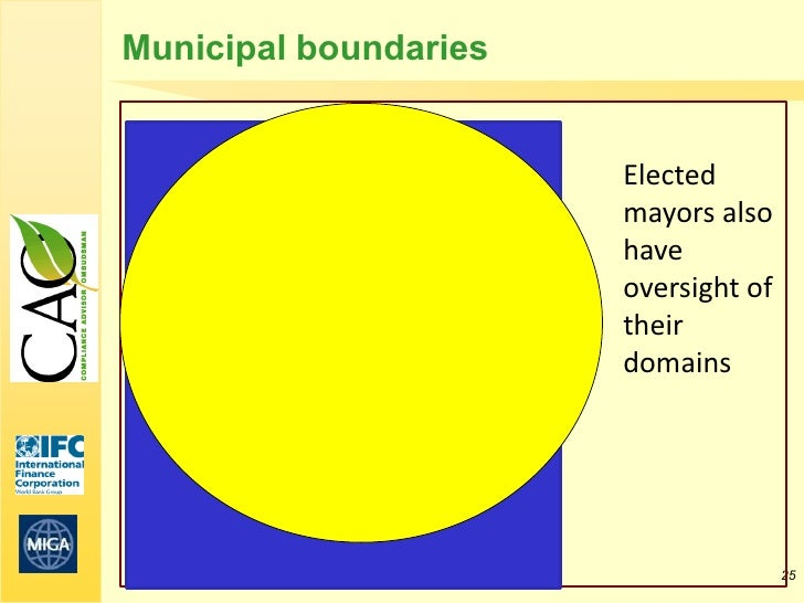 Municipal boundaries                       Elected                       mayors also                       have           ...