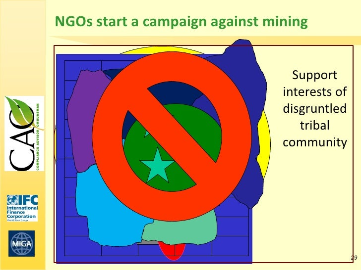 NGOs start a campaign against mining                                  Support                                interests of ...