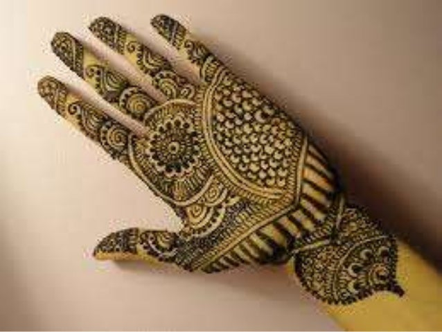 Mehndi Hands Powerpoint : Mehandi design powerpoint