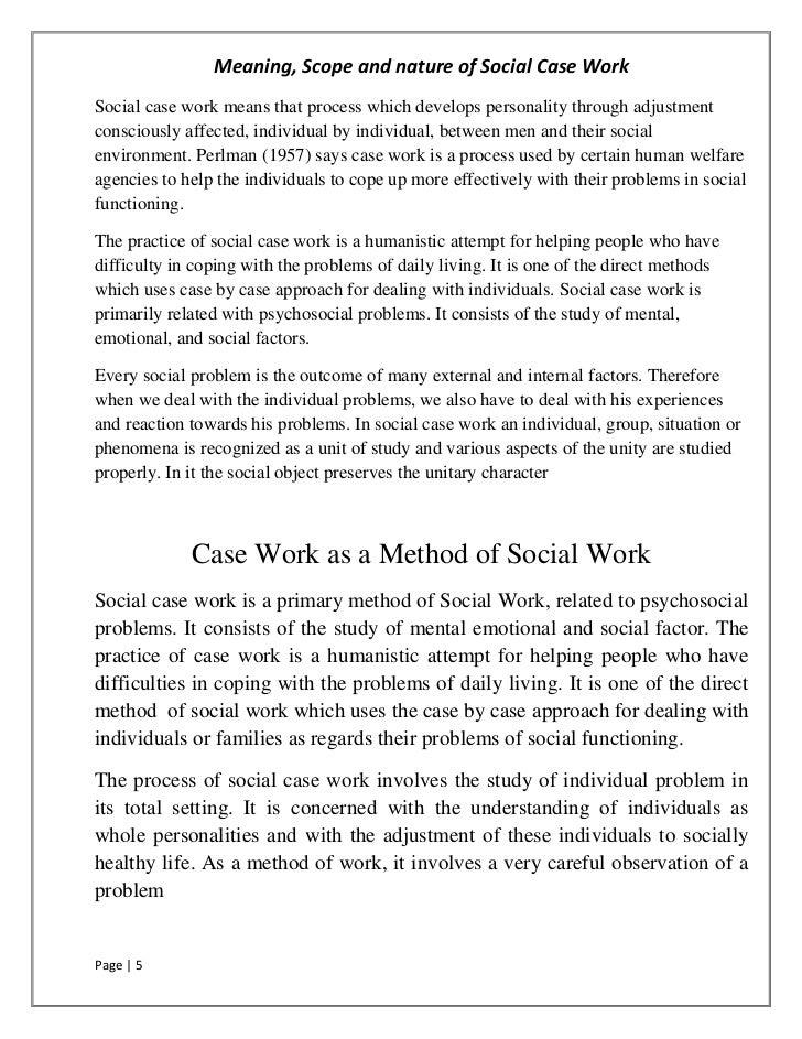 essays on work