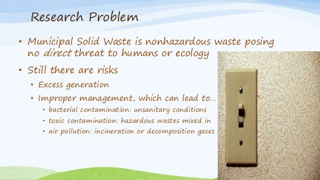 municipal solid waste thesis