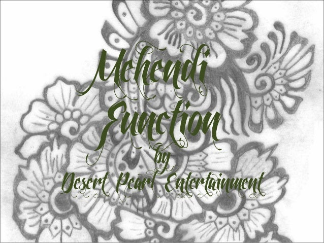 Mehendi    Function            byDesert Pearl Entertainment