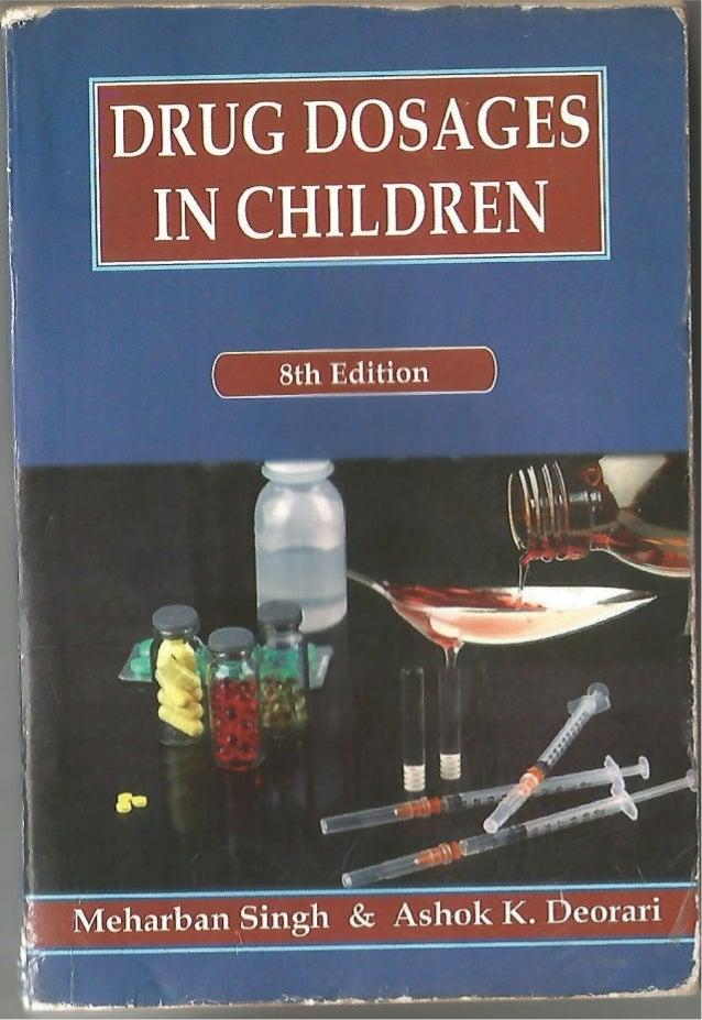 Meharban Singh Pediatrics Drug Dosage Pdf