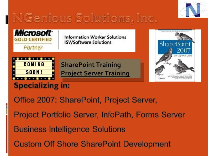 Mehta - SharePoint Data And Database Management Slide 2