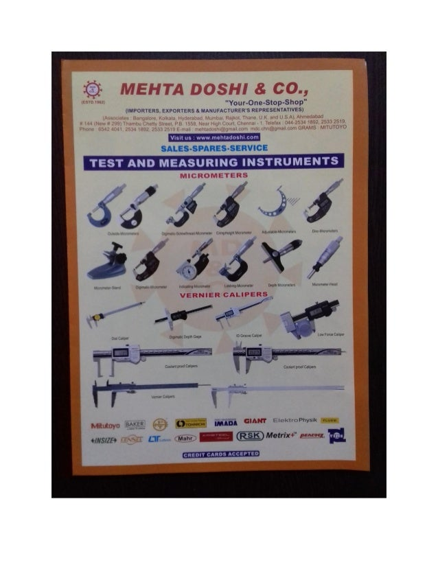 INDUSTRIAL TOOLS By Mehta Doshi & Co