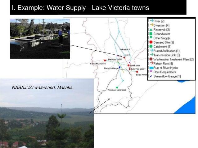 I. Example: Water Supply - Lake Victoria townsNABAJUZI watershed, Masaka