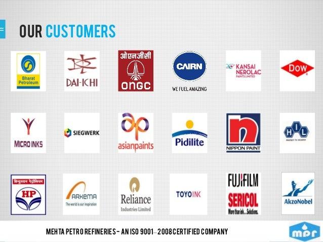 Mehta Petro Refineres Limited, Mumbai, Lubricant, Solvents Oils Slide 3