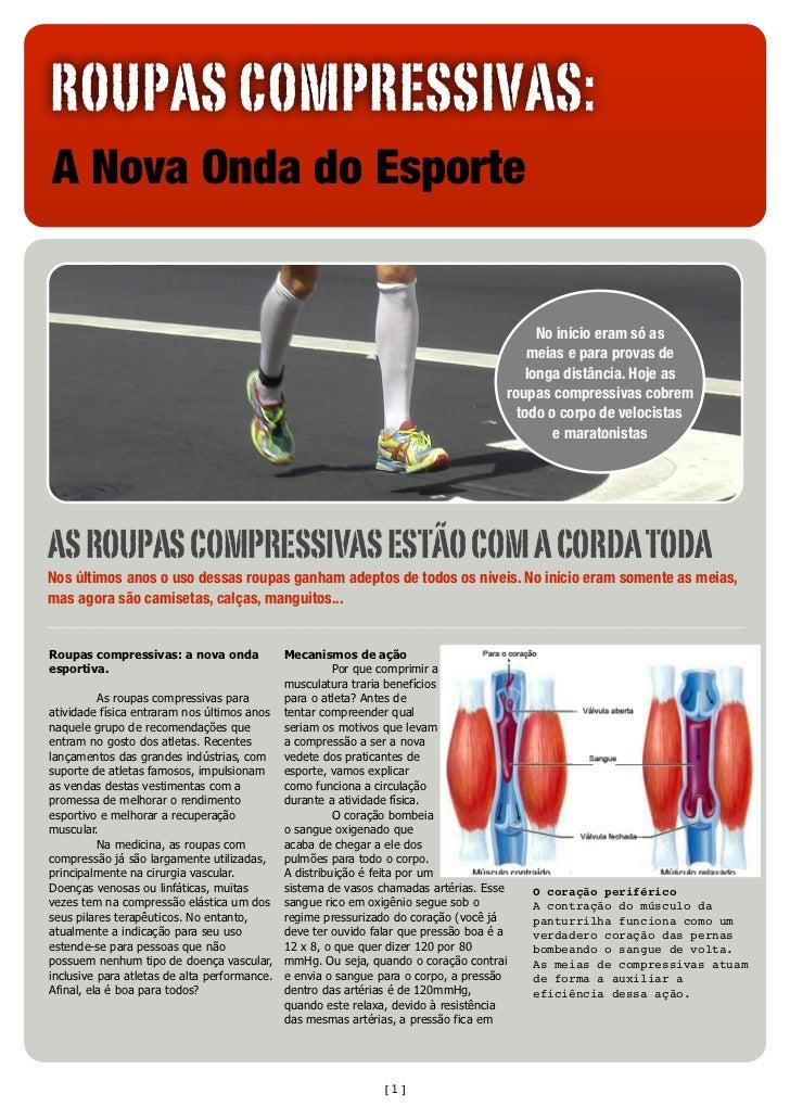 ROUPAS COMPRESSIVAS:A Nova Onda do Esporte                                                                               ...