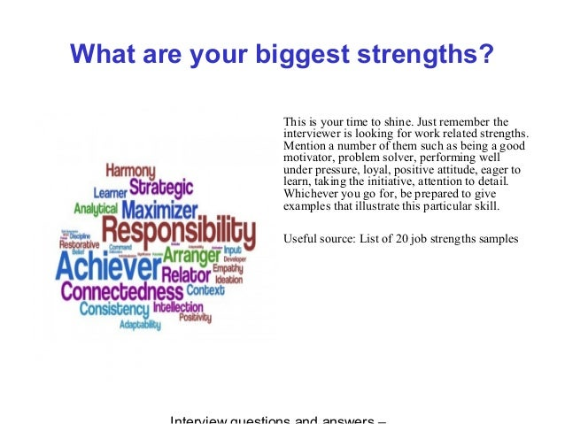 strengths for interview - Attention To Detail Interview Questions And Answers