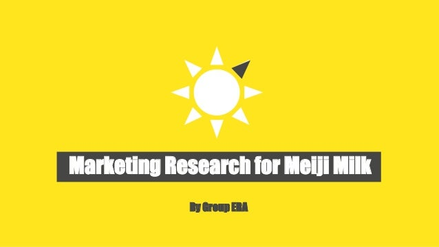 Year Consulting Project For Cp Meji Milk