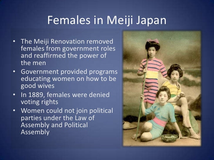 Meiji Era And Clothing