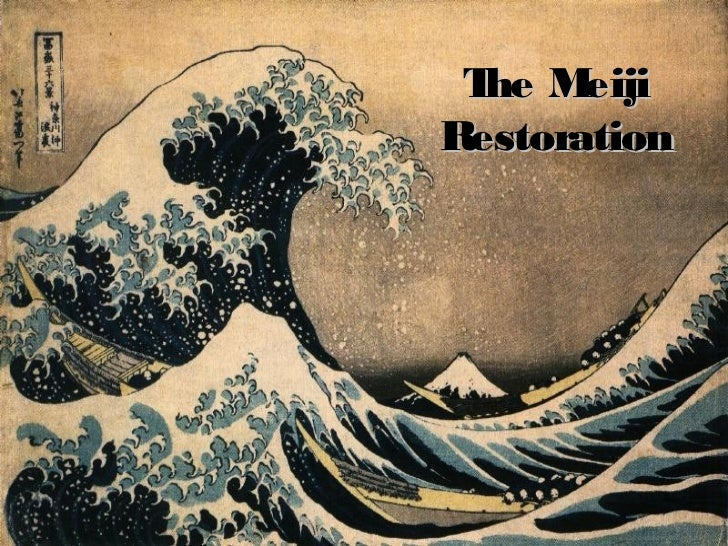 the meiji restoration of japan essay 2015-3-23  factors that affected meiji restoration  effects of the meiji era japan accelerated  if you are the original writer of this essay and no longer wish.