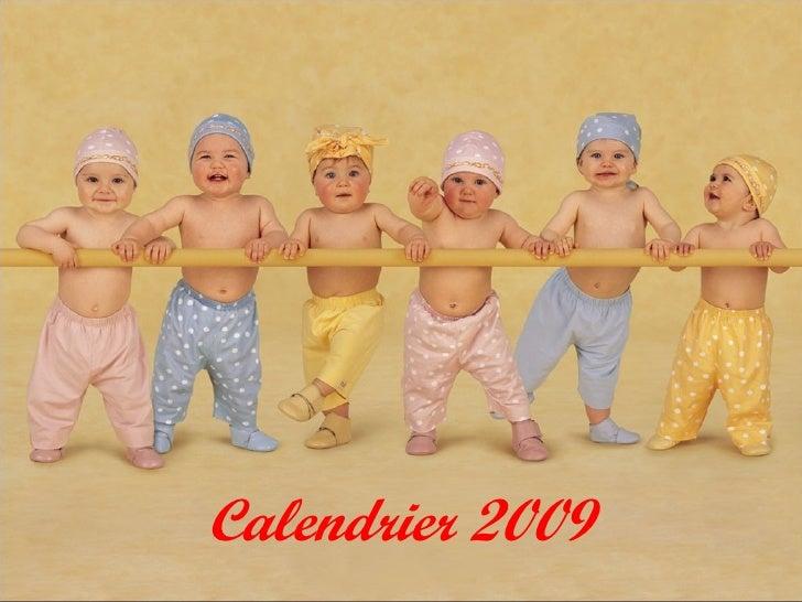 Calendrier 2009