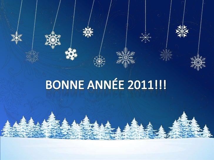 Meilleurs voeux 2011 EVE