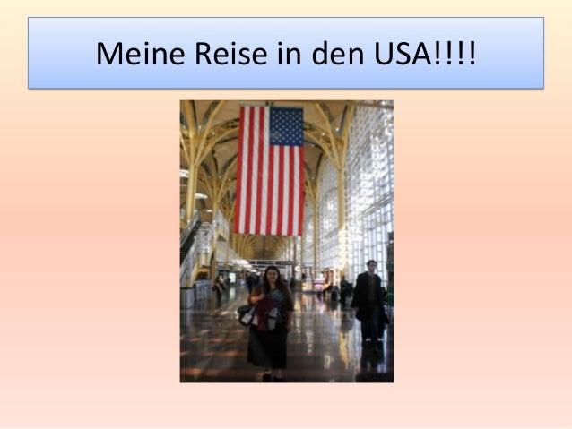 Meine Reise in den USA!!!!