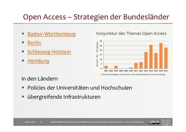 Baden-Württemberg Berlin Schleswig-Holstein Hamburg in den Ländern Policies der Universitäten und Hochschulen übergreifend...