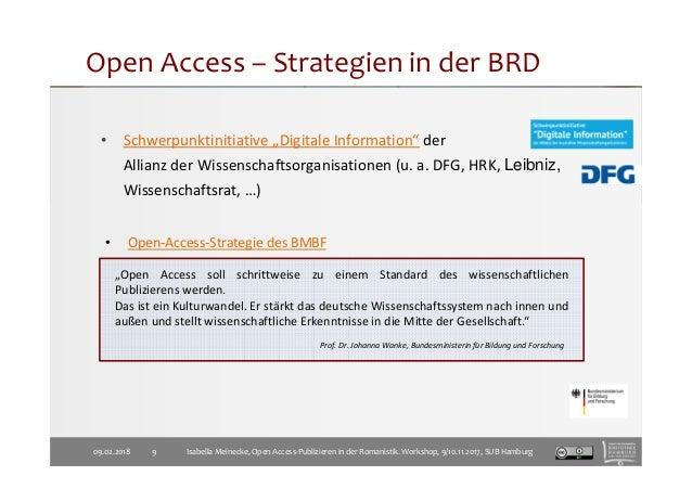 """• Schwerpunktinitiative """"Digitale Information"""" der Allianz der Wissenschaftsorganisationen (u. a. DFG, HRK, Leibniz, Wisse..."""